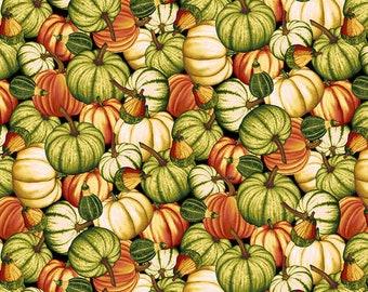 CLEARANCE!!! Pumpkin Harvest Pumpkin Toss - 1/4 yard