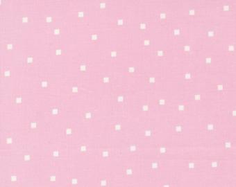 Make Time - Square Dots - Iris - 1/4 yard