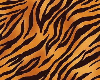 Skin Deep Tiger Skin - 1/4 yard