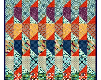The Factory Quilt Kit Featuring Madison One Collection - IN STOCK - Ready to Ship - FREE Shipping!