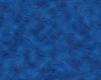 Color Movement - Sapphire - 1/4 yard