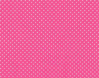 Petite Basics Hot Pink 2 - 1/4 yard