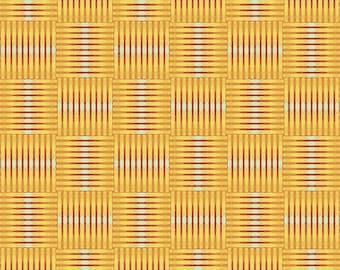 Madison One - Basket Case - Yellow - 1/4 yard