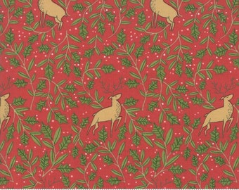 To Be Jolly by Moda - Berry - 1/4 yard