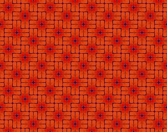 Madison One - My Plus One Small - Red - 1/4 yard