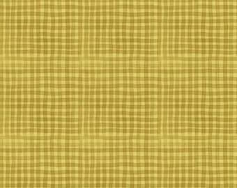 Dale Farm Plaid - Light Gold - 1/4 yard