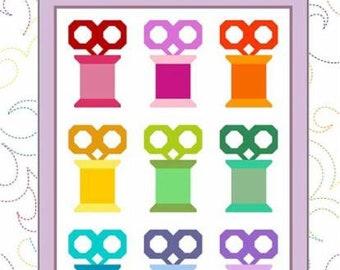 Scissors & Spools Quilt Pattern