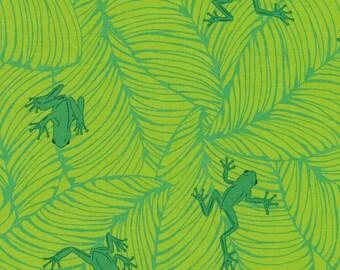 Jungle Paradise Oh Froggy - Seedling - 1/4 yard