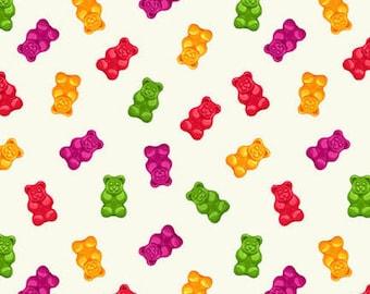 Herban Sprawl - Gummy Bears - 1/4 yard