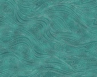 Color Movement - Ocean - 1/4 yard