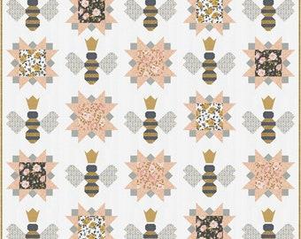 PREORDER!!! Queen Bee Quilt Kit