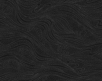 Color Movement - Black - 1/4 yard