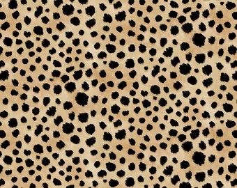 Skin Deep Cheetah Skin - 1/4 yard