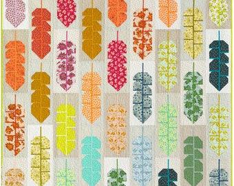 PREORDER!!! Leafy Quilt Kit by Elizabeth Hartman