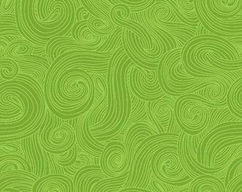 Just Color! Swirl 1351-Grass - 1/4 yard