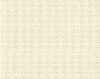 Lemonade Dot - Yellow - 1/4 yard