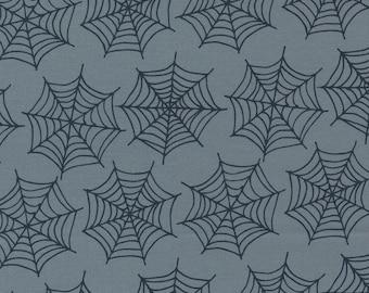 Holiday Essentials Halloween - Spiderwebs - Shadow (Gray) - 1/4 yard