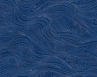 Color Movement - Lapis - 1/4 yard