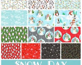 Snow Day FQ Bundle
