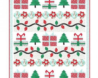 Twinkle Lights Quilt Kit Featuring Snow Day from Windham Fabrics - IN STOCK - Ready to Ship - FREE Shipping!