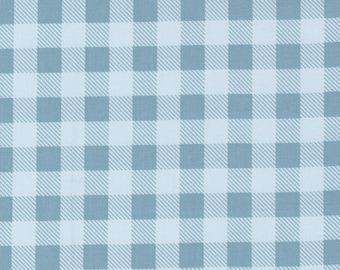 Make Time - Picnic Check - Bluebell - 1/4 yard