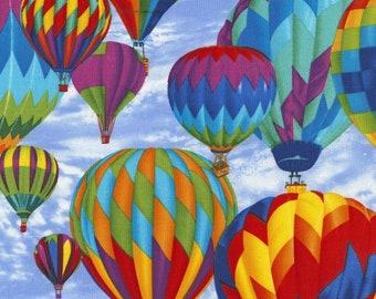 Hot Air Balloons - 1/4 yard