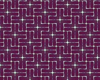 Madison One - My Plus One - Purple - 1/4 yard