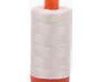 Aurifil Mako Cotton 50 wt - Silver White
