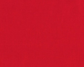 Kona Cotton - Red - 1/4 yard