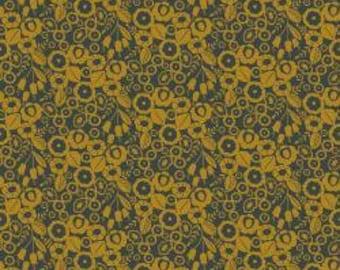CLEARANCE!!! Emilia - Adele - Mustard - 1/4 yard