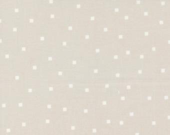 Make Time - Square Dots - Cloud - 1/4 yard