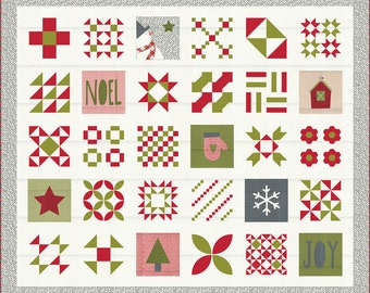 Red Barn Christmas Quilt Kit - IN STOCK - Ready to Ship - FREE shipping!