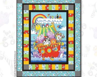 Noah's Story - Quilt Kit 1 - IN STOCK - Ready to Ship - FREE shipping!