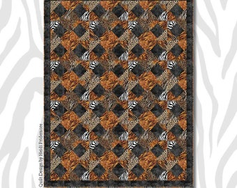Skin Deep Quilt Kit - IN STOCK - Ready to Ship - FREE shipping