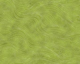 Color Movement - Green - 1/4 yard