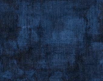 Wilmington Prints Dry Brush Dark Denim Dry Brush - 1/4 yard