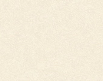 Color Movement - Ivory - 1/4 yard