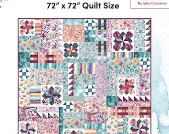 Wildflower Fields Quilt Pattern