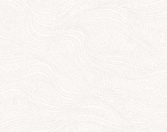 Color Movement - White - 1/4 yard