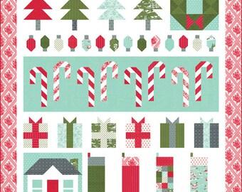 PREORDER!!! Merry Little Christmas Quilt Kit