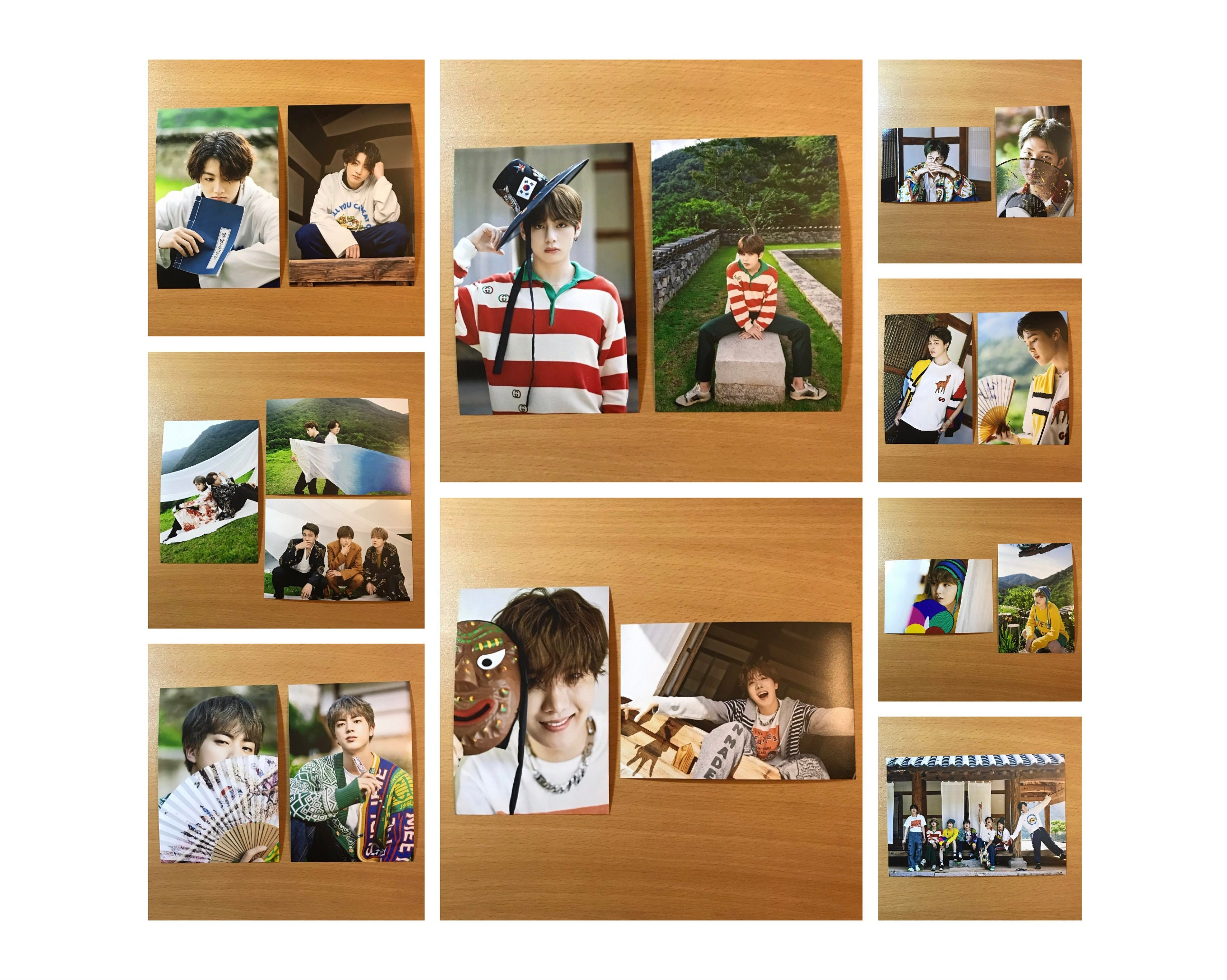 Unofficial Bts Summer Package 2019 Live Photos Photocard Rm Etsy