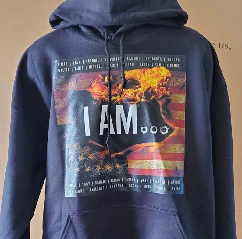 I AM... Hoody Unisex image 0