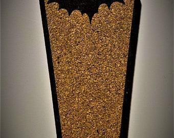 Coffin Pin Board - Casket Cork
