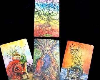 Tarot Reading - Bonestone and Earthflesh Tarot
