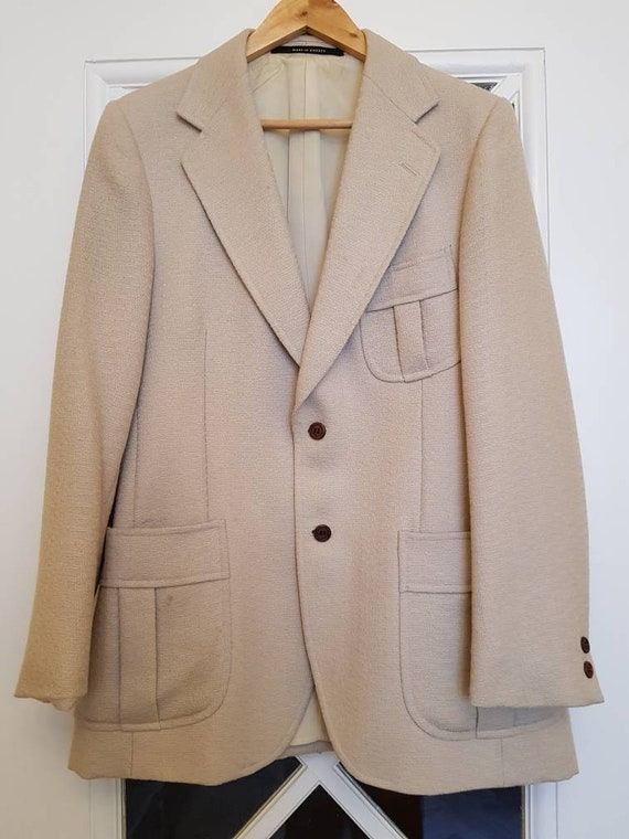1970s does 30s beige jacket, Tiger of Sweden, good
