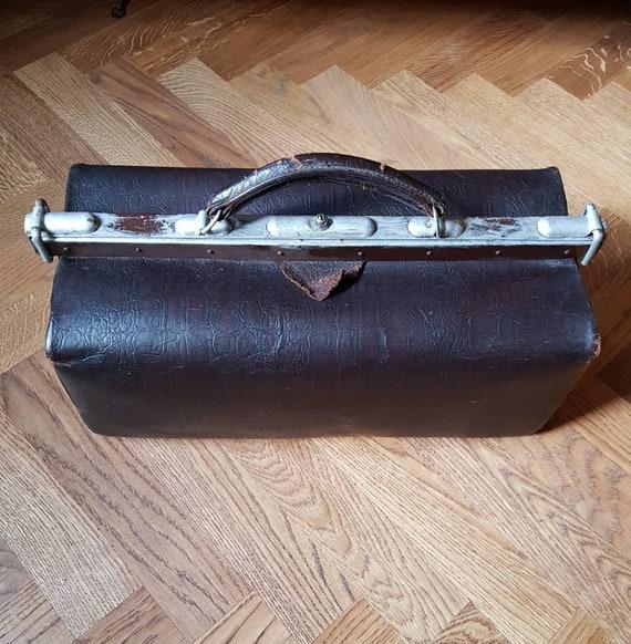1920s-30s Doctors bag, unisex!