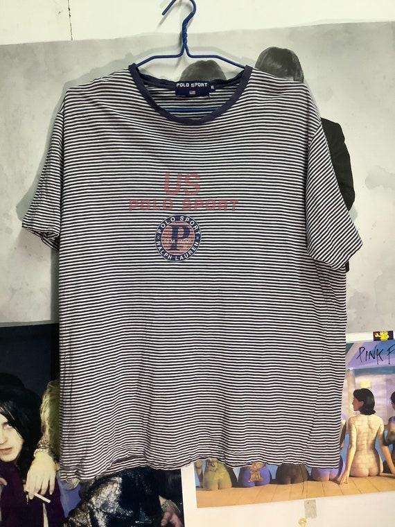 Vintage Polo Sport Ralph Lauren 12 M Yacht T-shirt