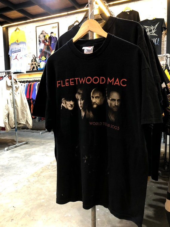 Vintage Fleetwood Mac World Tour T-shirt