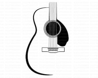 Guitar Clipart Etsy