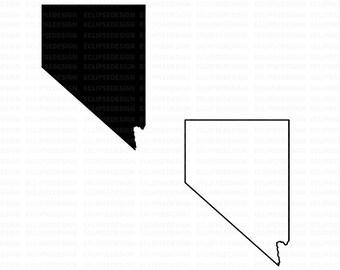 Nevada Clipart Etsy